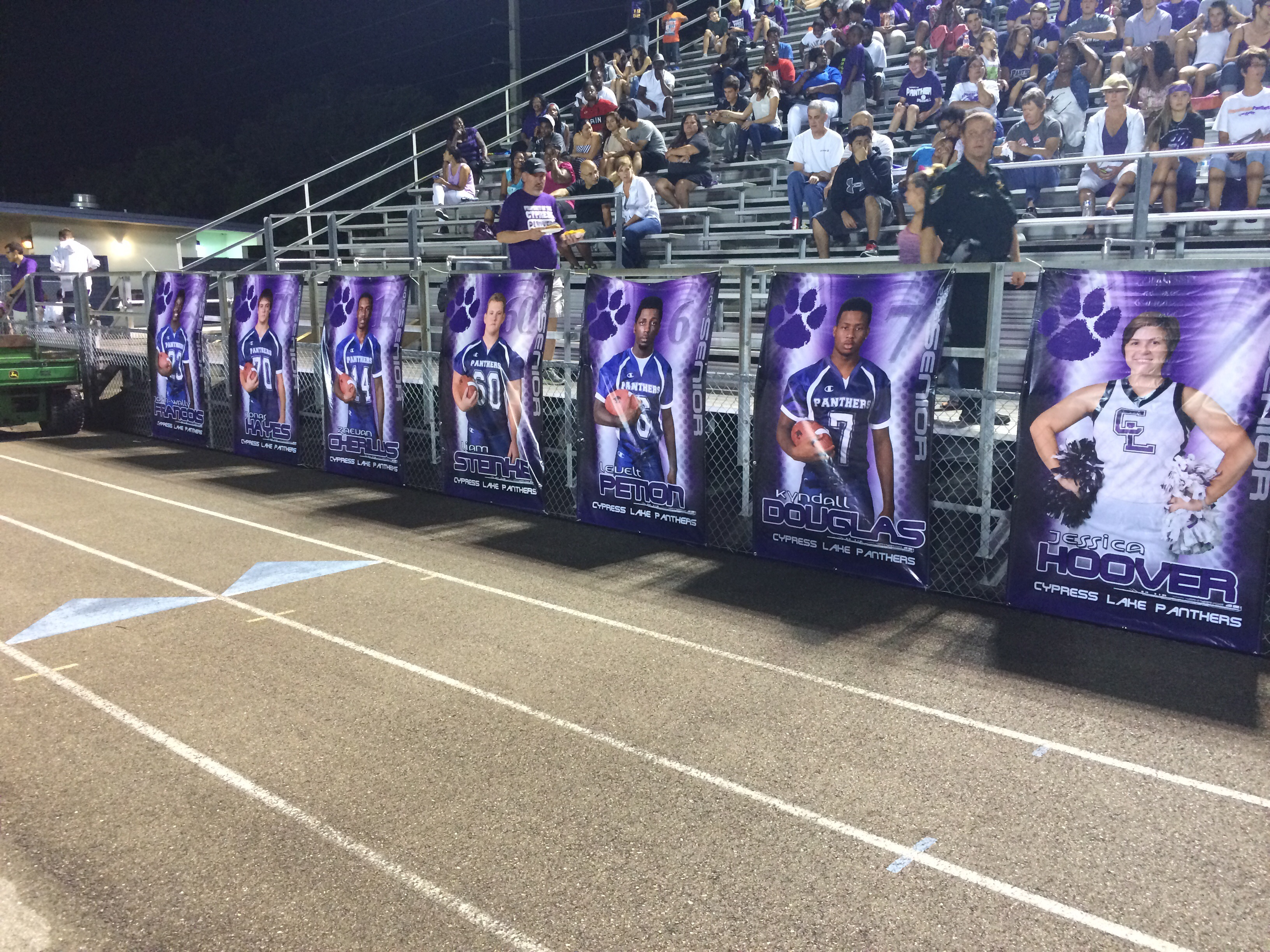 Cypress Lake Senior Banners