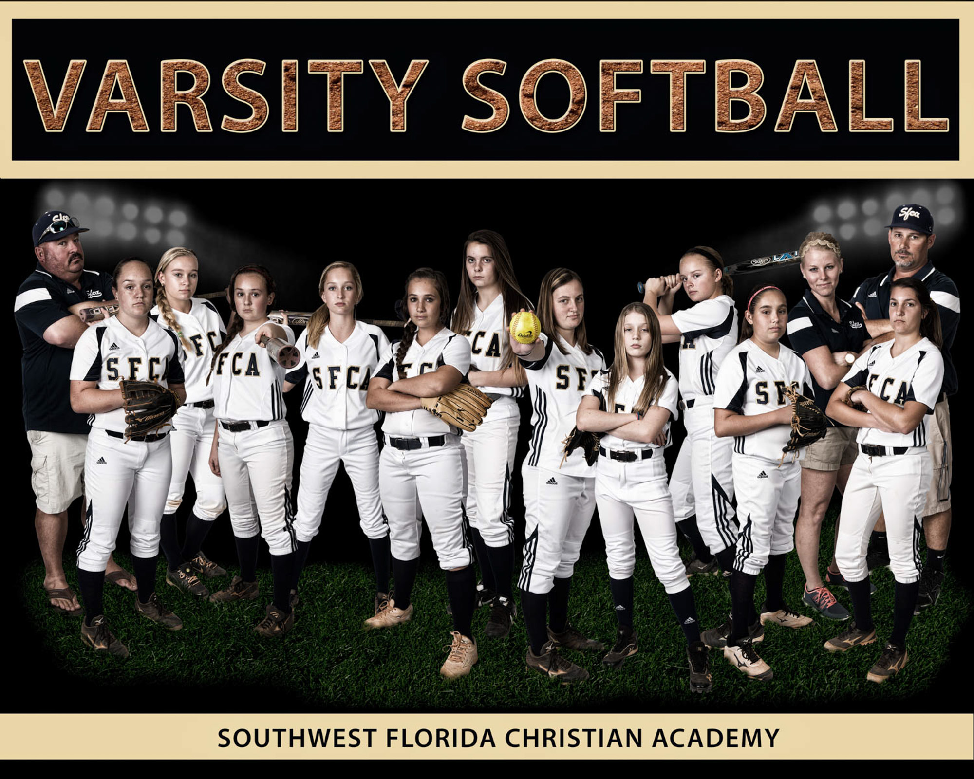 Girls Varsity Softball Team v2